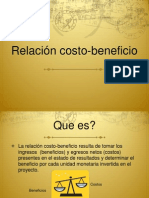 Costo Beneficio