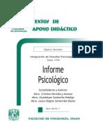 Informe Psicol+¦gico - Heredia y Ancona - Santaella Hidalgo - Somarriba Rocha - TAD - 7-¦ sem-a