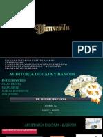 Presentación de Auditoria de Caja Bancos
