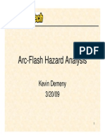 Saftey Presentation for Arc Flash Hazard