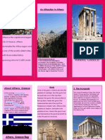 my awesome brochure about athens greece 1