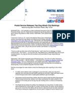 USPS Dog Bite News Release 2014