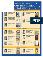 Candlewick Press - Meet Our Stars at BEA!
