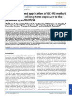 Development and Application of GC-MS