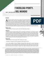 Deleuze y Merleau-Ponty. La Carne Del Mundo