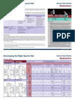 Badminton Data Sheet