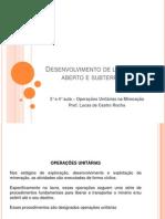 3° E 4° AULA OPERAÇÕES UNITÁRIAS NA MINERAÇÃO - ACESSO.ppt