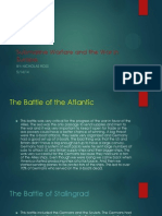 submarine warfare and the war in europe
