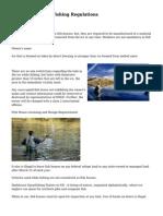 North Dakota Ice Fishing Regulations