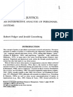 2.3 Procedural Justice an Interpretive Analysis of Personnel Systems