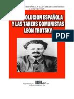 La Revolución Española y Las Tareas Comunistas