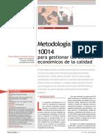 Metodologia Iso 10014