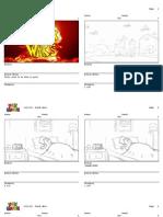 """UG 1019-021 """"Prank Wars"""" Storyboard"""