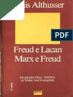 Althusser Freud Lacan Marx Freud