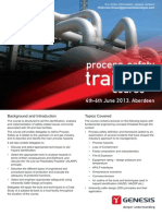 Process Safety Training Course 2013