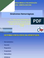 61_Síndromes Hemorrágicas