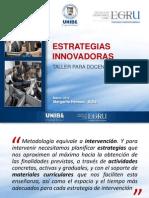 PPT Estrategias Innovadoras Para Docentes EGRU
