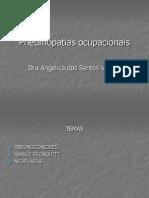 Aula-pneumopatia Pneumopatias Ocupacionais