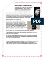 Biografia Martín Chambi Jiménez