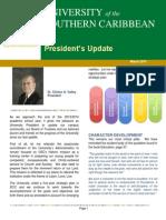 USC President's Newsletter 2014
