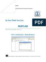 MATLAB Course - Part 1