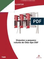 Disjuntor a Pequeno Volume de Oleo Dsf Areva