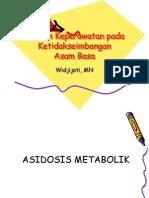 Asuhan Keperawatan Pada Asidosis Metabolik