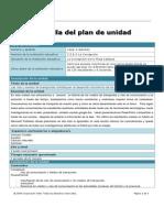 planilla del plan de unidad transporte