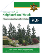 Neighborhood Watch from Snohomish County Sheriff