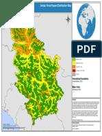 Mapa plavnih podrucja Srbije