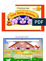 Three Little Pigs A4 French