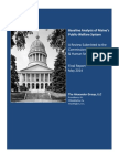 Alexander Group -- Baseline Welfare Analysis ME