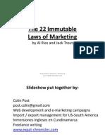 the22immutablelawsofmarketing-101025134639-phpapp01