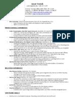 jason vonick resume