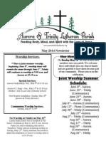 Aurora-Trinity Newsletter May14 Final
