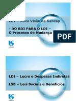 Cálculo BDI e LDI Sabesp