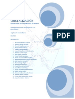 Antología de Cristalización equipo 1