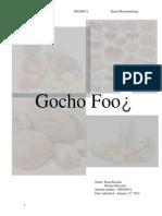 gocho food