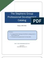 Stephens Group Winter Professional Development Catalog