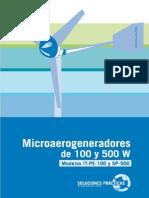 4. Microaerogeneradores de 100 y 500 W