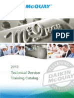 2013 Service Training Catalog March2013