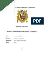 Análisis Crítico de La Obra Problema de La Sociología Del Derecho
