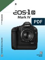 Canon 1D Eos1dmkiv Im3 En