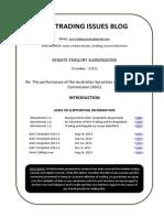 ASIC Senate Enquiry Submission