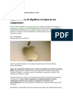Caso Apple Financial Times