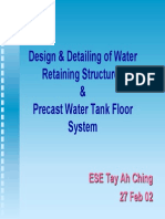 Water Retaining Structures Design