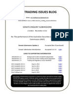 ASIC Senate Submission Update 1