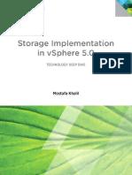 Vmware Storage Implementation