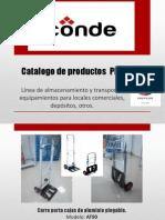 Catalogo de Productos PREPCAR