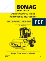 Bomag BW177D 50 OperatorsManual